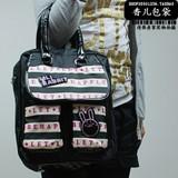 Fashion Black Leather handbag
