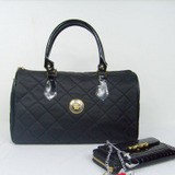 Fashion Black Leather handbag