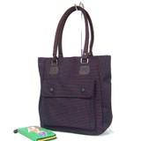 Fashion Brown Fabric  handbag