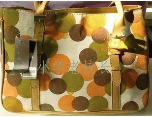Fashion Dots Fabric handbag