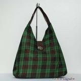 Fashion Green  Fabric  handbag