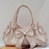 Fashion Pink PU handbag
