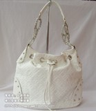 Fashion White Leather handbag