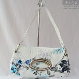 Fashion White PU   handbag