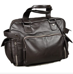 Gray hot sale fashion handbag for men