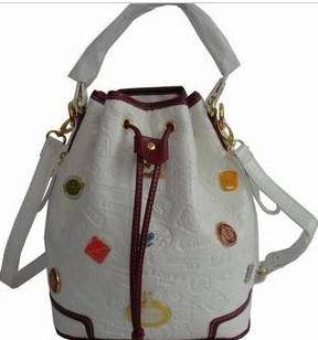 Professional White Flower Handbag