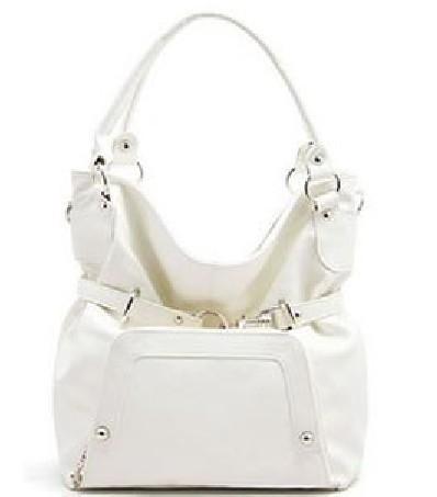 White hot sale fashion handbag