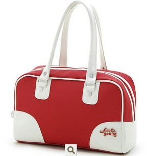 hot Red generous fashion bag