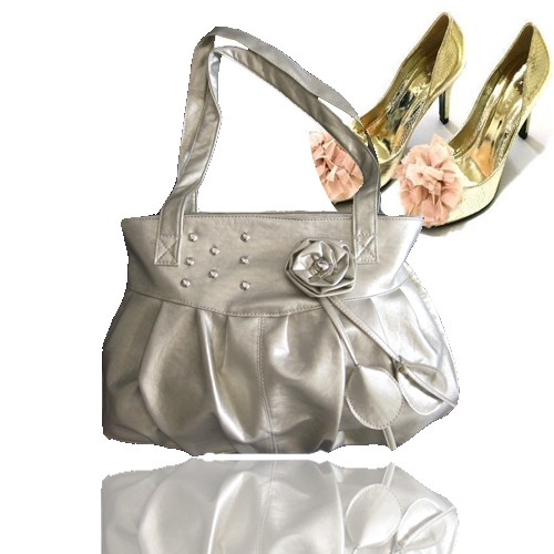 hot White generous fashion bag