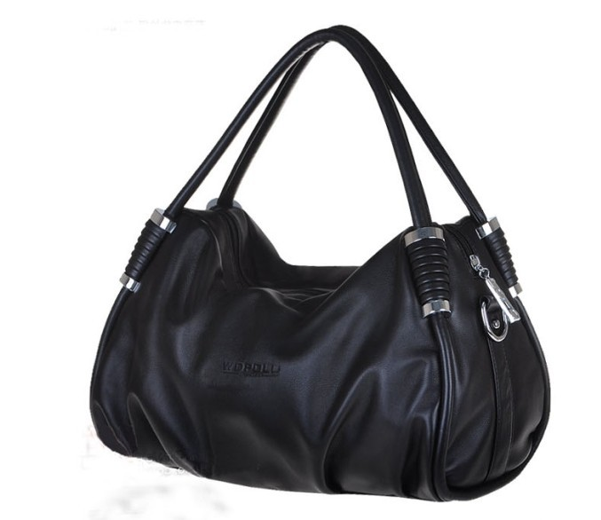 hot black generous fashion bag