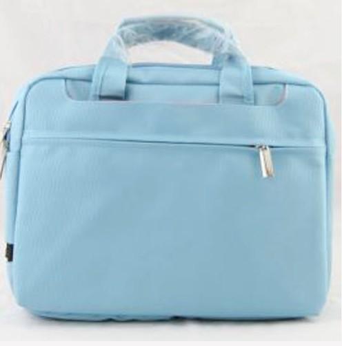 Blue Polyster Computer Bag