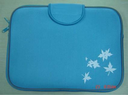 Green Neoprene  laptop bag