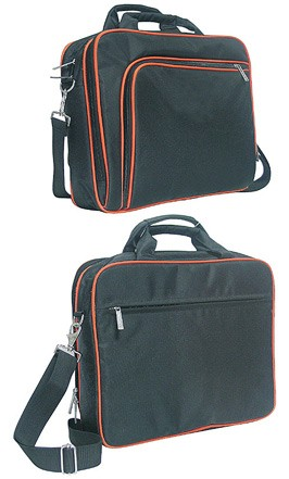 Hot sale Black 420D Polyster laptop bag