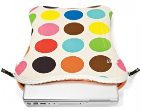 Hot sale Dots Neoprene laptop bag