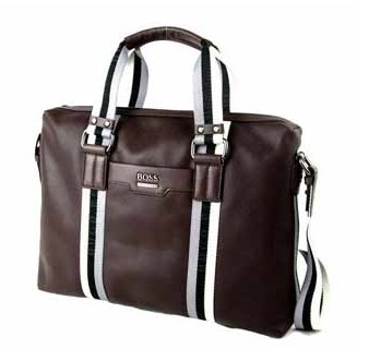 Hot sale Fashion Brown Leather laptop bag