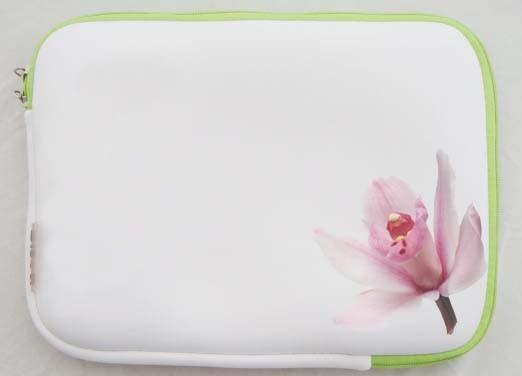 Hot sale White Neoprene laptop bag