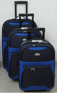 Blue EVA Luggage bag