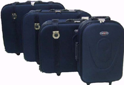 Blue Press EVA+Polyster Trolly bag
