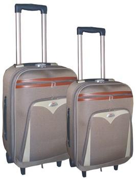 Brown Polyster EVA Luggage bag