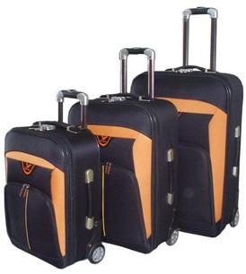 Fashion Polyster EVA Luggage bag