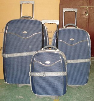 Gray  EVA Luggage bag With Belt