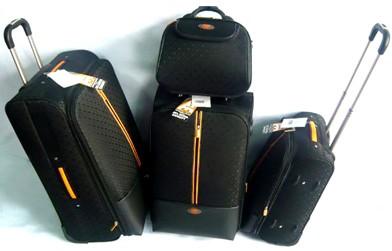 High Black EVA Polyster Trolly bag