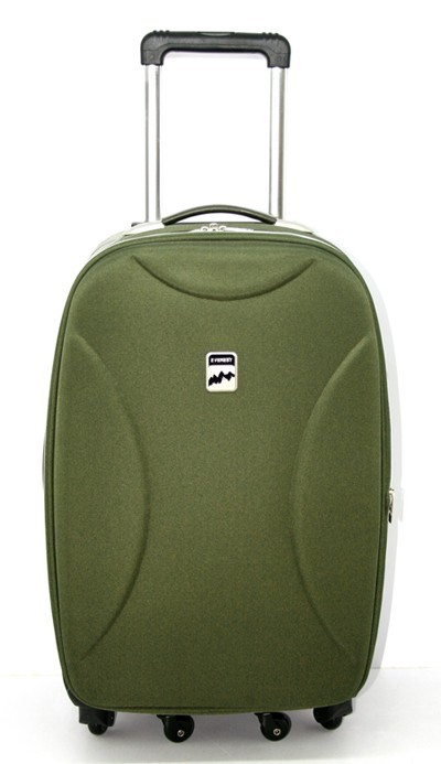 High Quality Green Leather Luggage bag manufacturers,High Quality ...