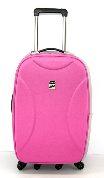 High Quality Pink Leather Luggage bag manufacturers,High Quality ...