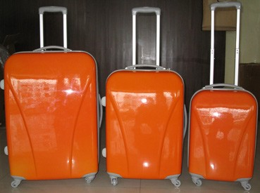 Orange PC Luggage bag