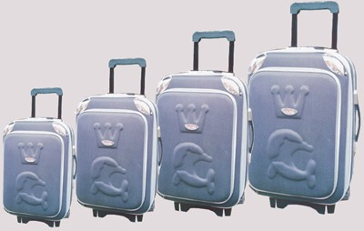 Press picture Polyster EVA Luggage bag