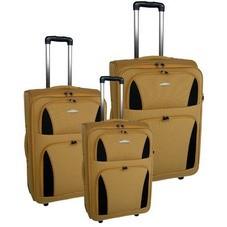 Quality brown Polyster EVA Luggage bag