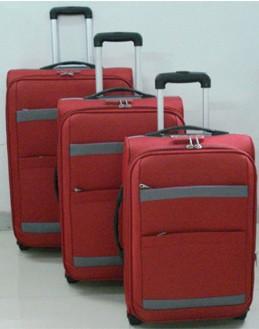 Red  EVA  Polyster Luggage bag