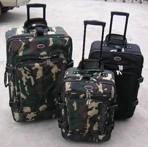 Soft camouflage Luggage bag
