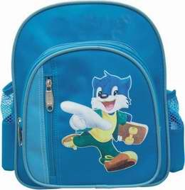 Blue Functional Student Bag for Girl