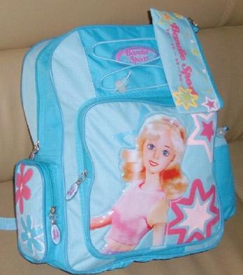Blue Student School Book Bag