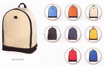 Colours 600D School Backpack