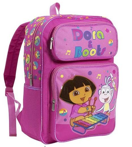 Girls Pink Backpacks For School