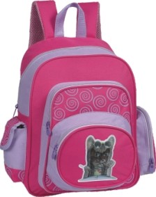 Pink Girl's School Student Backpack