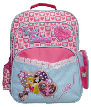 Pink Kid's School Student Bag
