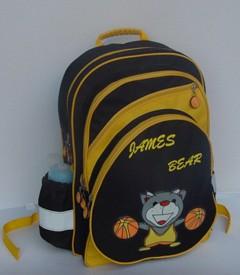 School Backpack With Bottle Pocket