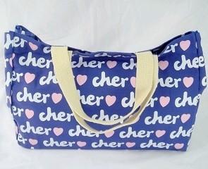 Blue  Cotton Shopping bag