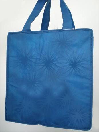 Blue  Fashion Shopping bag