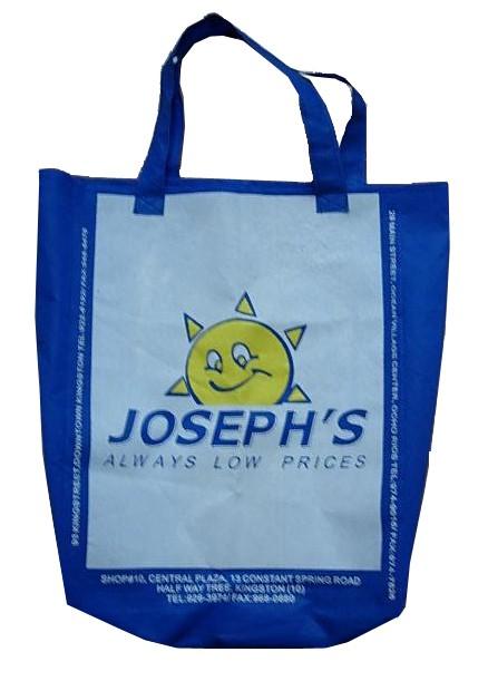 Blue  Full Printing Non Wonven Shopping bag
