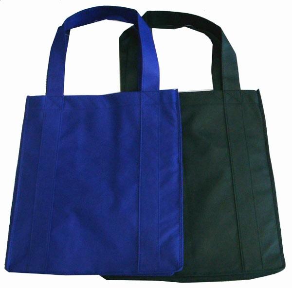 Blue Non Woven Fashion Shopping bag