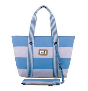 Blue Polyster  Shopping bag