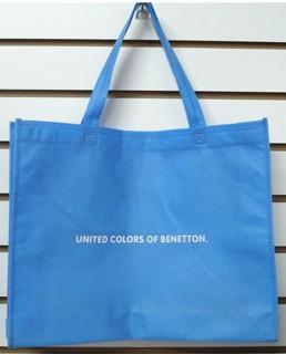 Blue big Fashion Shopping bag