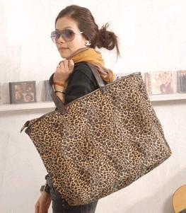 Brown Big  Shopping bag