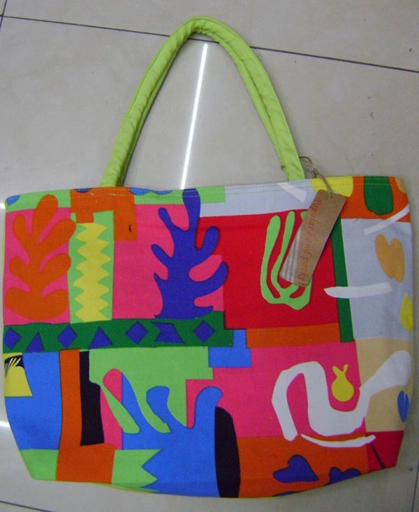 Colours 12OZ Cotton Shopping bag