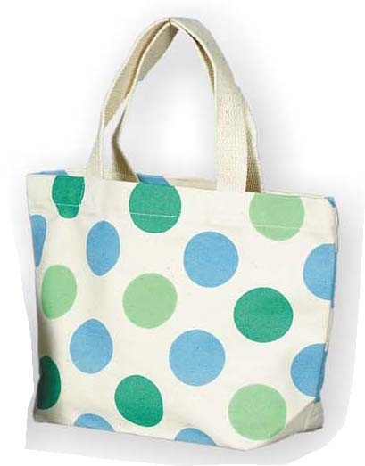 Dots Cotton Shopping bag