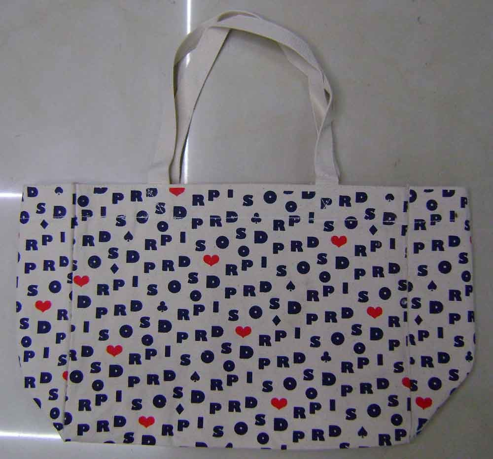 Fashion 16OZ Cotton Shopping bag